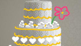 Création de gâteaux de mariage