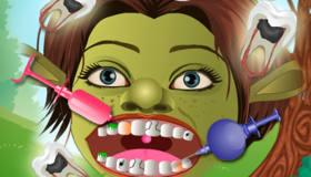 Monstre Vert Dentiste
