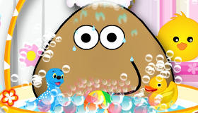 Le bain de Pou