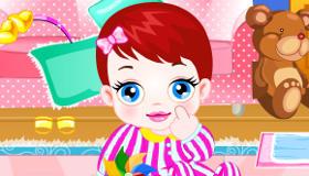 Changer la couche de bébé Lulu