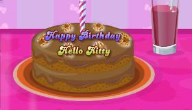 Gâteau d'anniversaire de Hello Kitty