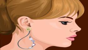 Création de boucles d'oreilles
