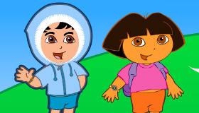 Apprendre l'anglais avec Dora l'exploratrice
