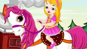 Nettoyer un beau cheval