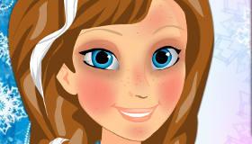 Maquillage professionnel de Anna de La Reine Des Neiges