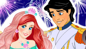 Mariage de princesse Ariel