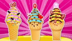 Les glaces aux cupcakes