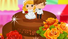 Gâteau de mariage au chocolat
