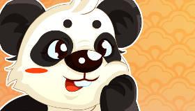 Jeu de mémoire de panda