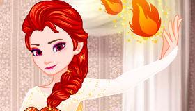 Elsa reine des flammes