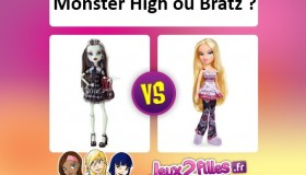 Monster High ou Bratz ?