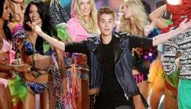 Justin Bieber, Rihanna et Bruno Mars au défilé Victoria's Secret