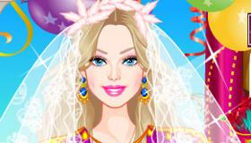 Une robe de mariage pour Barbie