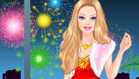 Barbie au Nouvel An