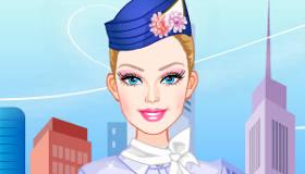 Barbie Hôtesse de l'air