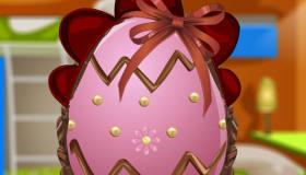 Décoration des œufs de Pâques