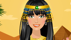 Habillage Egyptien pour Fille