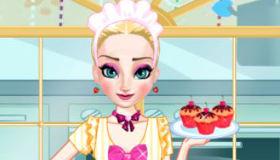 La Reine des Neiges cuisinière