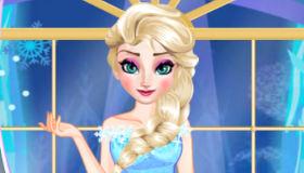 Elsa au bal d'Arandelle