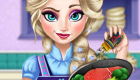La Reine des Neiges en cuisine