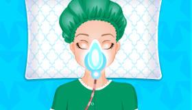 Elsa à l'hôpital
