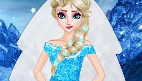 La robe de mariée d'Elsa