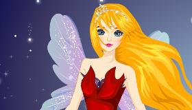 Habillage d'une fille fée