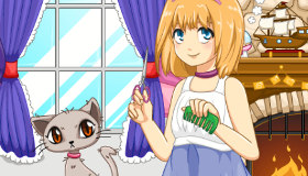 Salon de beauté pour petits chats