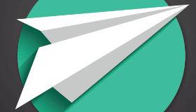Un avion en papier