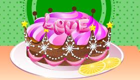 Cuisiner un gâteau avec amour