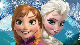 Jeu de différences de La Reine Des Neiges
