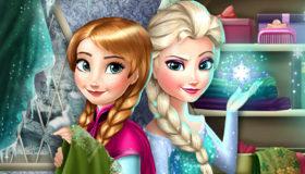 Elsa et Anna Rivales pour Filles