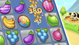 Jeu de fruit Candy Crush
