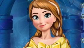 La Reine des Neiges en hiver