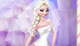 Mariage de la Reine des Neiges