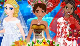Jeu de mariage de princesses pour filles