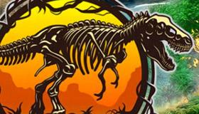Trouve les oeufs de dinausaures Jurassic World