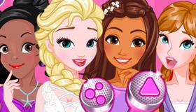 Jeu Carpool Karaoké des princesses