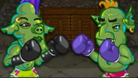Entraînement de boxe avec le Grinch