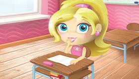 Barbie fait des bêtises à l'école