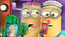 Joue au concours de selfie des Minions