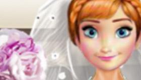 Le mariage d'Anna dans la Reine des Neiges 2