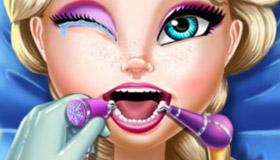 Le dentiste de la reine Elsa dans la Reine des Neiges 2