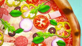Cuisine de pizzas réalistes