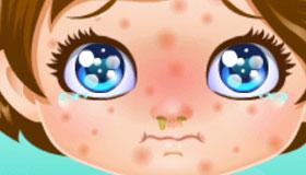 Bébé Lily est malade