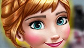 Jeu d'habillage de la princesse Anna dans la Reine des Neiges
