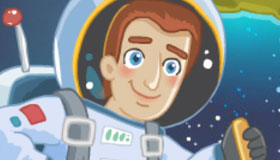 Les minions dans l'espace