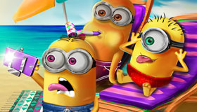 Les vacances d'été des Minions