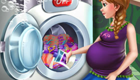 Le jour de la lessive de la Princesse enceinte