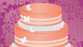 Gâteau de mariage de Bella
